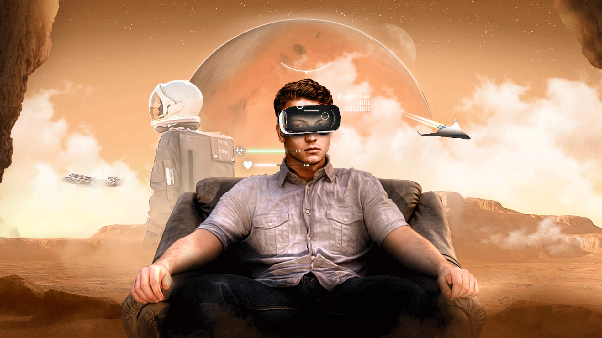 The future of Mars colonization begins with VR and video games – CNET.com
